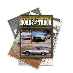 Road Test from Road and Track July 72 - Click to view album